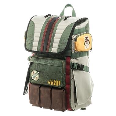 Star Wars Boba Fett Mandalorian Suit Up Laptop Backpack