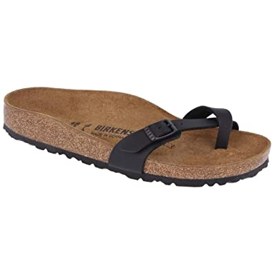 c02a9f97a991 Birkenstock Piazza 017093 Womens Sandals Size  7 Black
