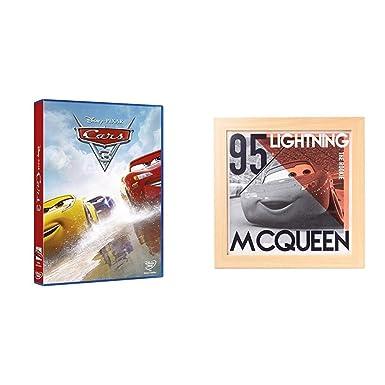 Cars 3 DVD + Cuadro Infantil Disney Cars Lightning Mcqueen, Rayo, 30X30 Cm: Amazon.es: Cine y Series TV