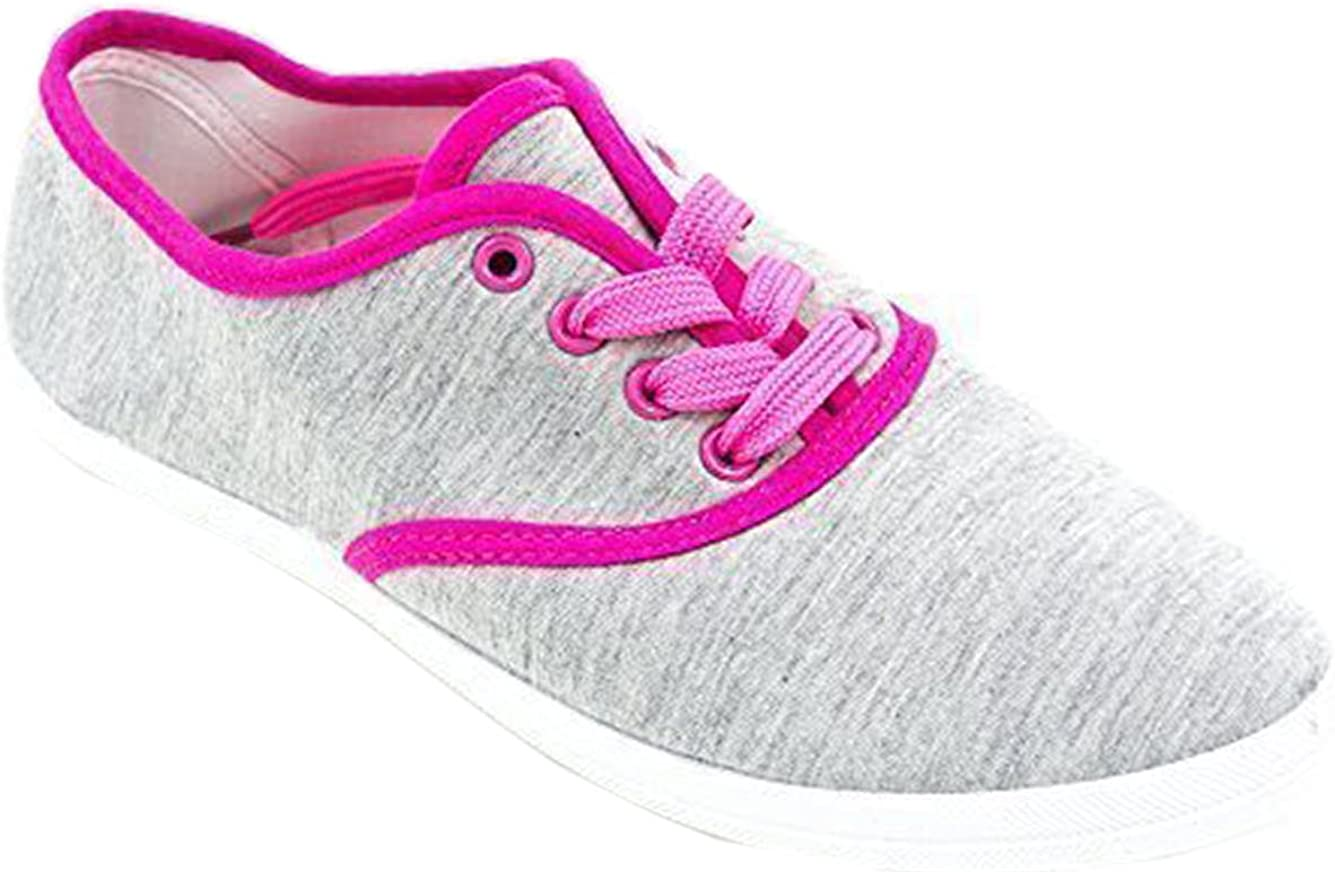 ladies grey lace up shoes