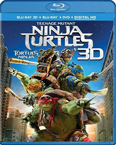 ninja turtles blu ray 3d - 1