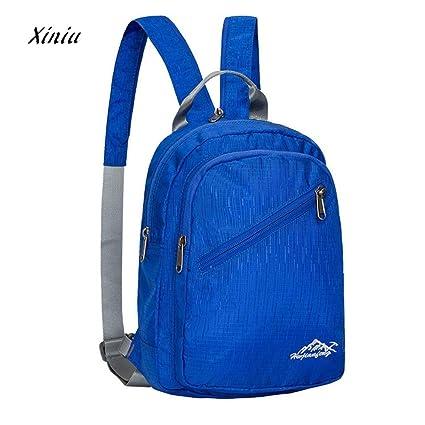 38b6f5b58560 Fashion Mini Nylon Backpack Men Women School Bag Daypack Waterproof Tote  Bags Casual Travel