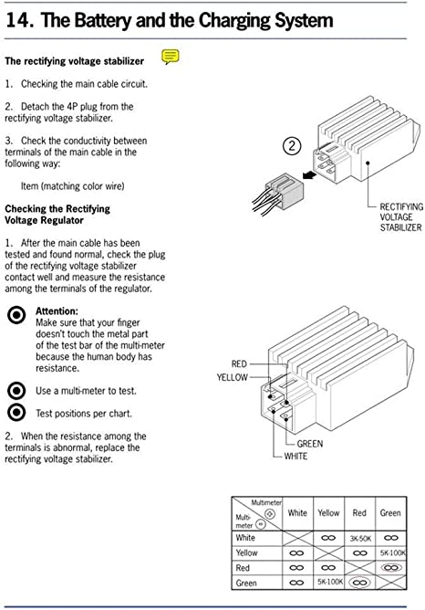 Universal 12V Regulator 4 Pin Regulator Rectifier Wiring Diagram from images-na.ssl-images-amazon.com