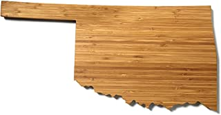 """product image for AHeirloom State of Oklahoma Cutting Board, 15"""", Amber"""