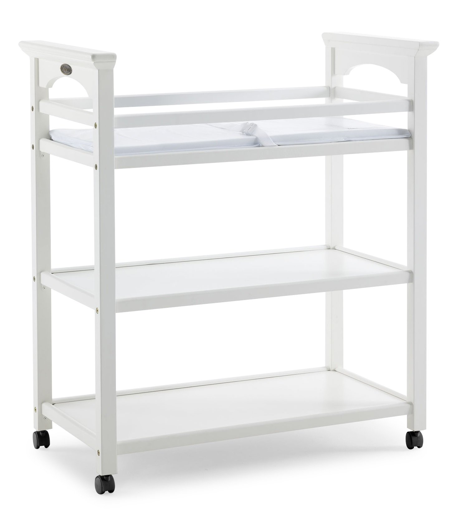 Stork Craft Graco Lauren Changing Table in White