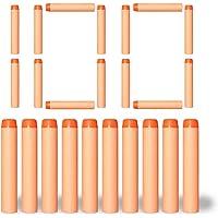 VCOSTORE Refill Nerf Darts Pack, Foam Bullets for Nerf N-Strike Elite Series Blasters Kid Toy Gun 4 Colors 100 200 400pcs