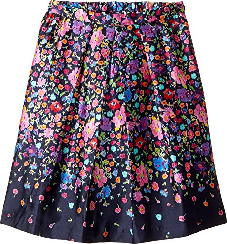 OSCAR DE LA RENTA Childrenswear Baby Girl's Chine Garden Mikado Pleat Skirt (Toddler/Little Kids/Big Kids) Multi Youth 12 Big by OSCAR DE LA RENTA