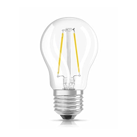 Osram Retrofit Bombilla LED, E27, 1.2 watts, Blanco, 1 unidad