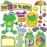 Carson Dellosa Funky Frog Weather Bulletin Board Set (110208)