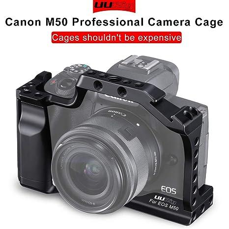 Ocamo Jaula Profesional para cámara réflex Digital para Canon M50 ...