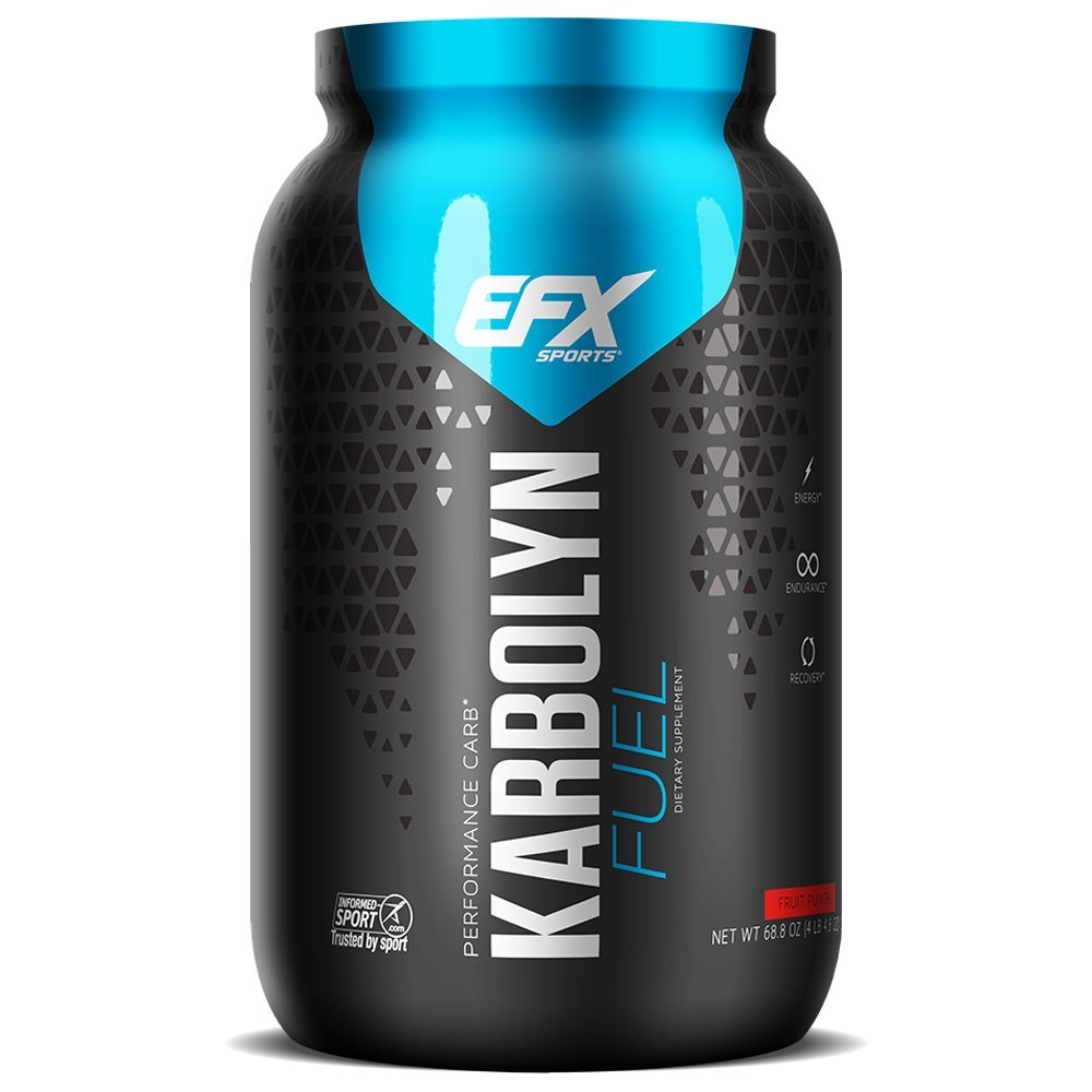 EFX Sports Karbolyn Nutritional Shake, Fruit Punch Frenzy, 4.4 Pound by EFX Sports