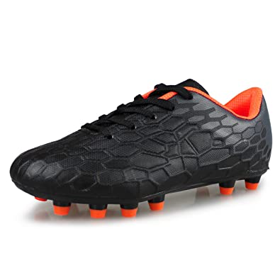 09e27e33a9620 Hawkwell Kids Athletic Outdoor Comfortable Soccer Shoes(Toddler/Little  Kid/Big Kid)