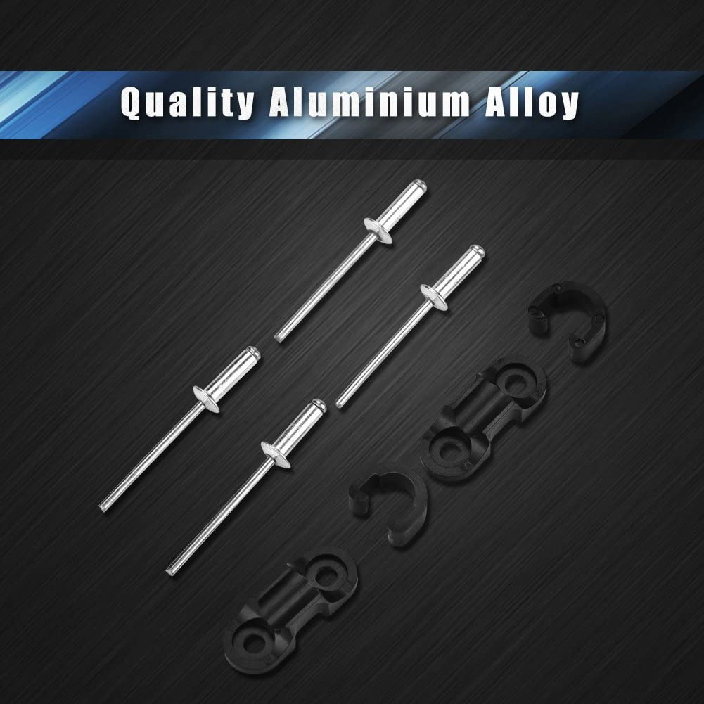 Ultra Light Aluminium Alloy Bike Brake Line Wires Sort Clip Buckle Accessory Bike Cable Clip