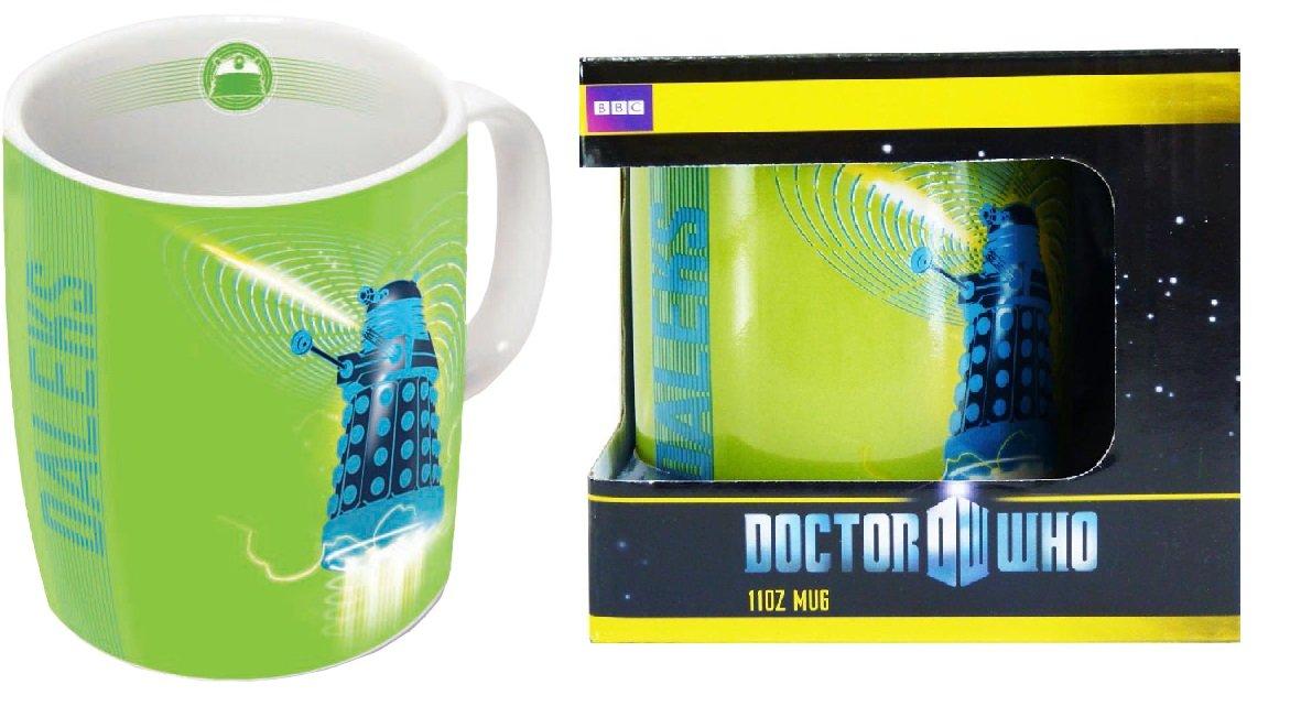 Doctor Who Dalek Mug 11oz Green