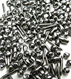 STAINLESS STEEL TUMBLING MEDIA SHOT JEWELERS MIX 5 SHAPES TUMBLER FINISHING 1Lb