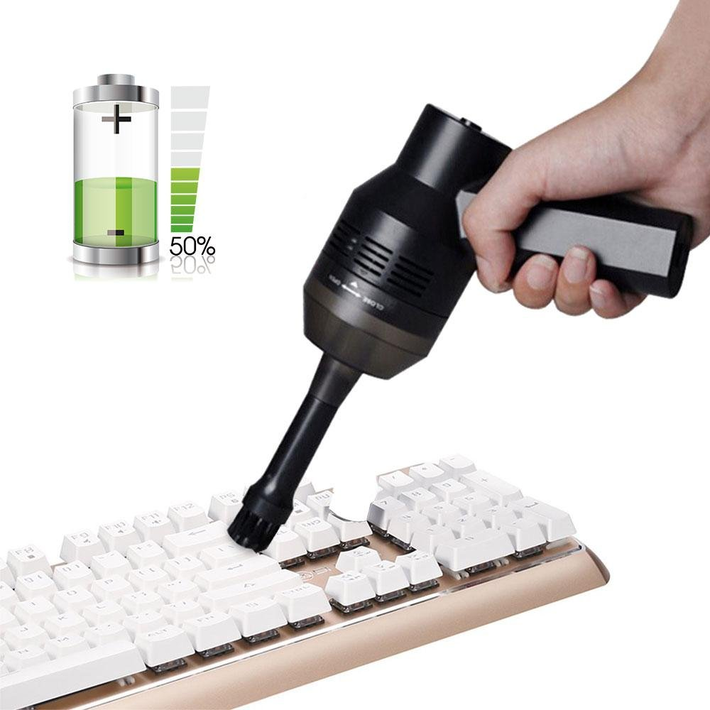 Pawaca Rechargeable Mini Vacuum Cleaner, Portable Dust Catcher For Keyboard, Computer, Piano, Car, Pet House, Bread Crumbs, Dust