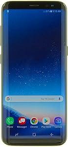 Samsung Galaxy S8, 64GB, Midnight Black - For Verizon (Renewed)