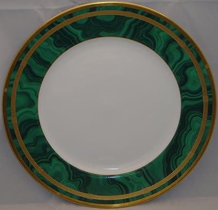 Amazon.com   Christian Dior Gaudron-Malachite Green Dinner Plate ...