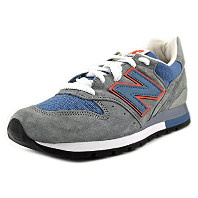 800924c454358 New Balance Men M996CSBO 996 Connoisseur Retro Ski - Made in USA (Gray/Blue