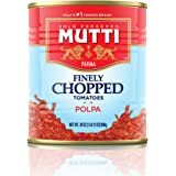 Mutti — 28 oz. 6 Pack of Finely Chopped Tomatoes from Italy's #1 Tomato Brand. Adds fresh taste to recipes calling for Crushe