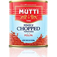 Mutti — 28 oz. 6 Pack of Finely Chopped Tomatoes from Italy's #1 Tomato Brand. Adds fresh taste to recipes calling for Crushed Tomatoes