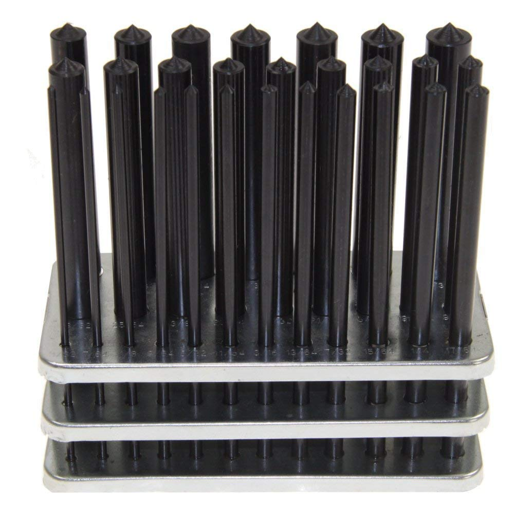 Chiloskit 28/PC 3//81,3/cm/ /1//5,1/cm transfer punch set strumenti Fabbro punzoni Machinist filettatura kit