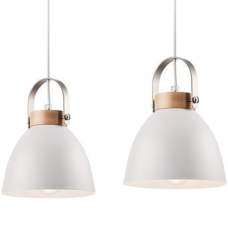 Lámpara de techo lámpara de metal E27 lámpara industrial de ...