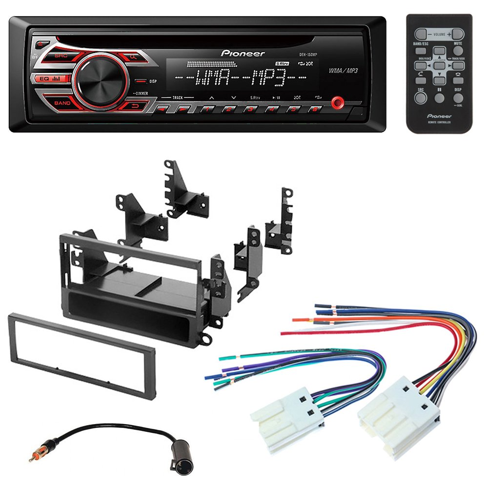 Amazon.com: Pioneer Aftermarket Car Radio Stereo CD Player Dash Install  Mounting Kit + Stereo Wire Harness for Select Nissan Altima Frontier Xterra  ...