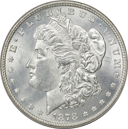 (1878 Morgan 8TF Dollar MS63)