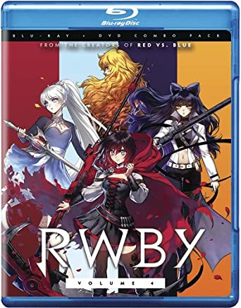 amazon com rwby volume 4 blu ray none movies tv
