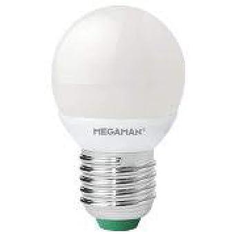 Megaman. Bombilla Led Regulable, 220-240v 5w 2800k E27. 470 lumen.