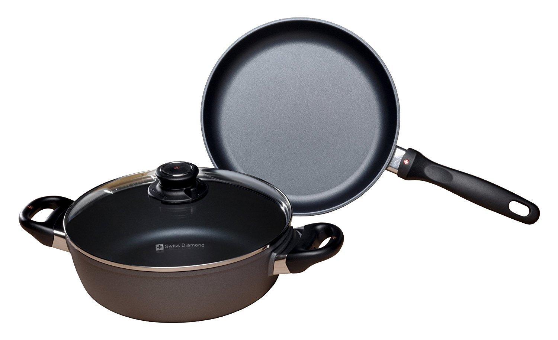 Swiss Diamond 6008i Induction 3-Piece Cookware Set