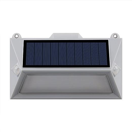 Lumisky Poly W11 Proyector Foco Solar 18 LED exterior impermeable luz con doble detector de movimiento