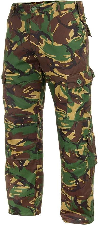 Highlander Kids Polycotton Army Style DPM Woodland Hard Wearing Combat Trousers