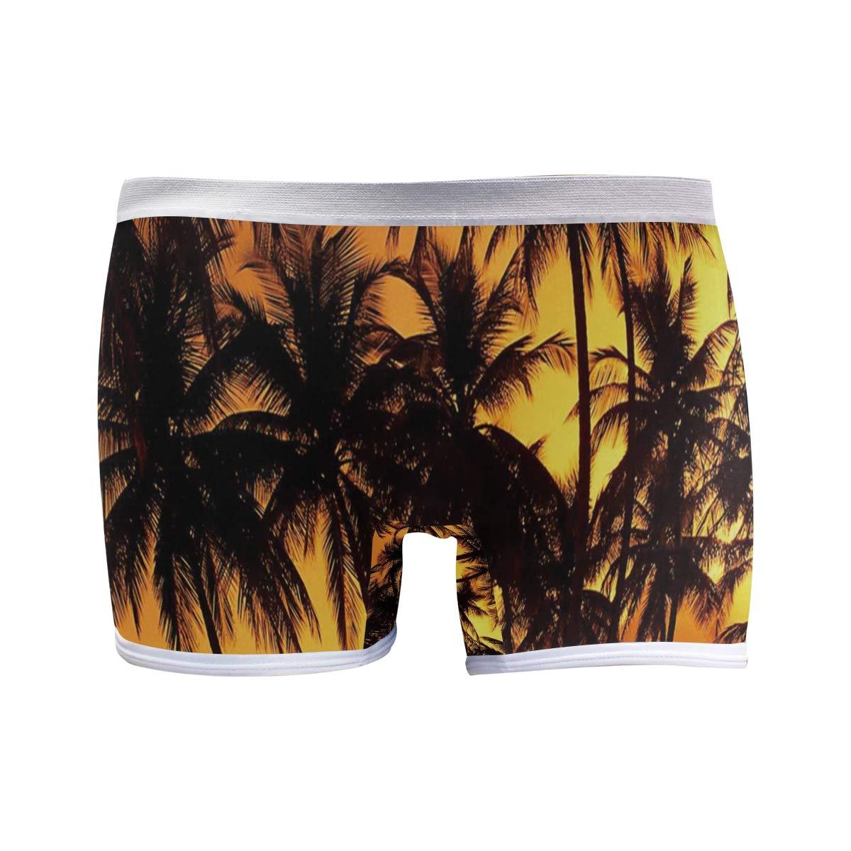 DERLONKAJE Boyshort Panties Womens Sea Star Shell Wooden Starfish Soft Underwear Briefs