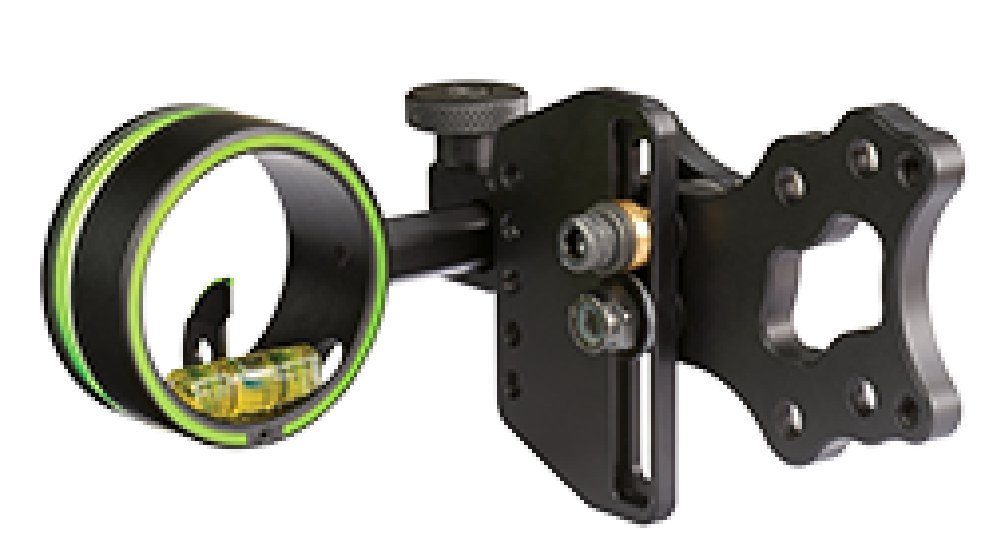 HHA Optimizer Lite Cadet 1-Pin .019'' 1 5/8 Dia Left Hand Archery Sight by HHA