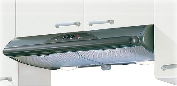 Mepamsa Mito Jet 60 - Campana aspirante decorativa de pared, color gris metal: Amazon.es: Grandes electrodomésticos