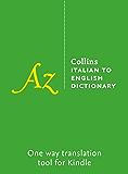 Collins Italian to English Dictionary (Italian Edition)
