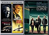 Triple Clint Eastwood Trouble With The Curve + Absolute Power & True Crime Movie Collection Film Feature pack