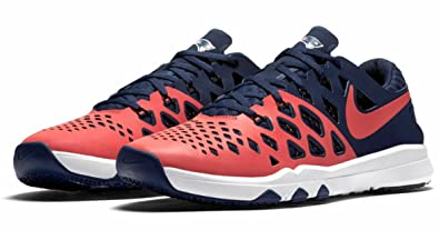 Image Unavailable. Image not available for. Color  Nike Train Speed 4 AMP  NFL New England Patriots Sneakers Shoes (10) 9c57fd63b