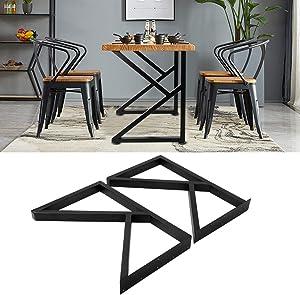 2Pcs Metal Furniture Legs, K Shape 28