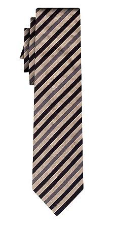 BOSS corbata de seda fine stripe beige black: Amazon.es: Ropa y ...