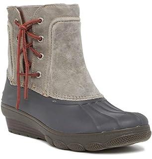 636a42986b2 Amazon.com  Sperry Top-Sider Women s Saltwater Wedge Tide Rain Boot ...