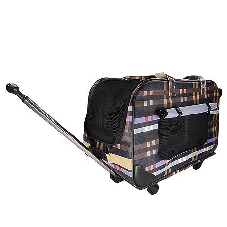 Maleta con ruedas portátil Bolsa de viaje móvil enrollada ...