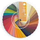 Paleta de color en formato abanico para el color tipo Otoño con 35 colores
