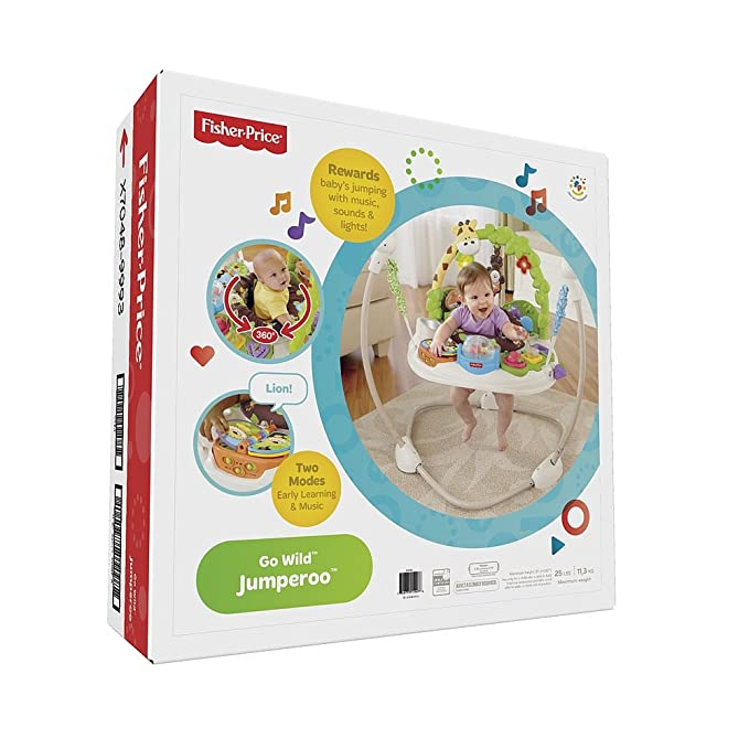 Fisher-Price Go Wild Jumperoo Activity Centers by Fisher-Price: Amazon.es: Bebé