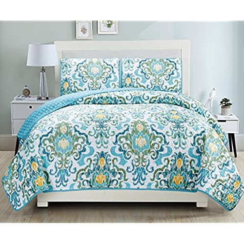 turquoise quilts. Black Bedroom Furniture Sets. Home Design Ideas