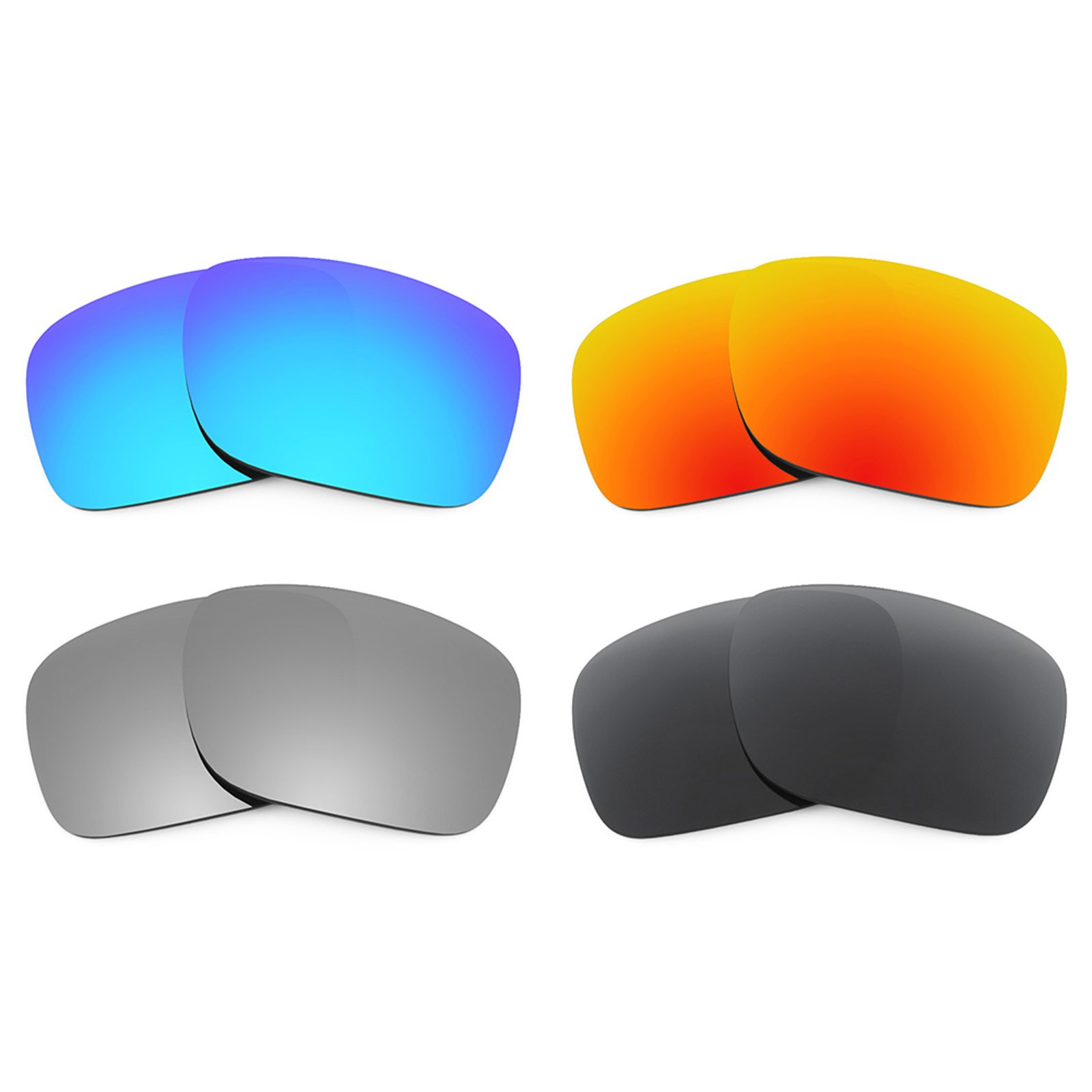 Revant Replacement Lenses for Oakley Holbrook 4 Pair Combo Pack K018 by Revant