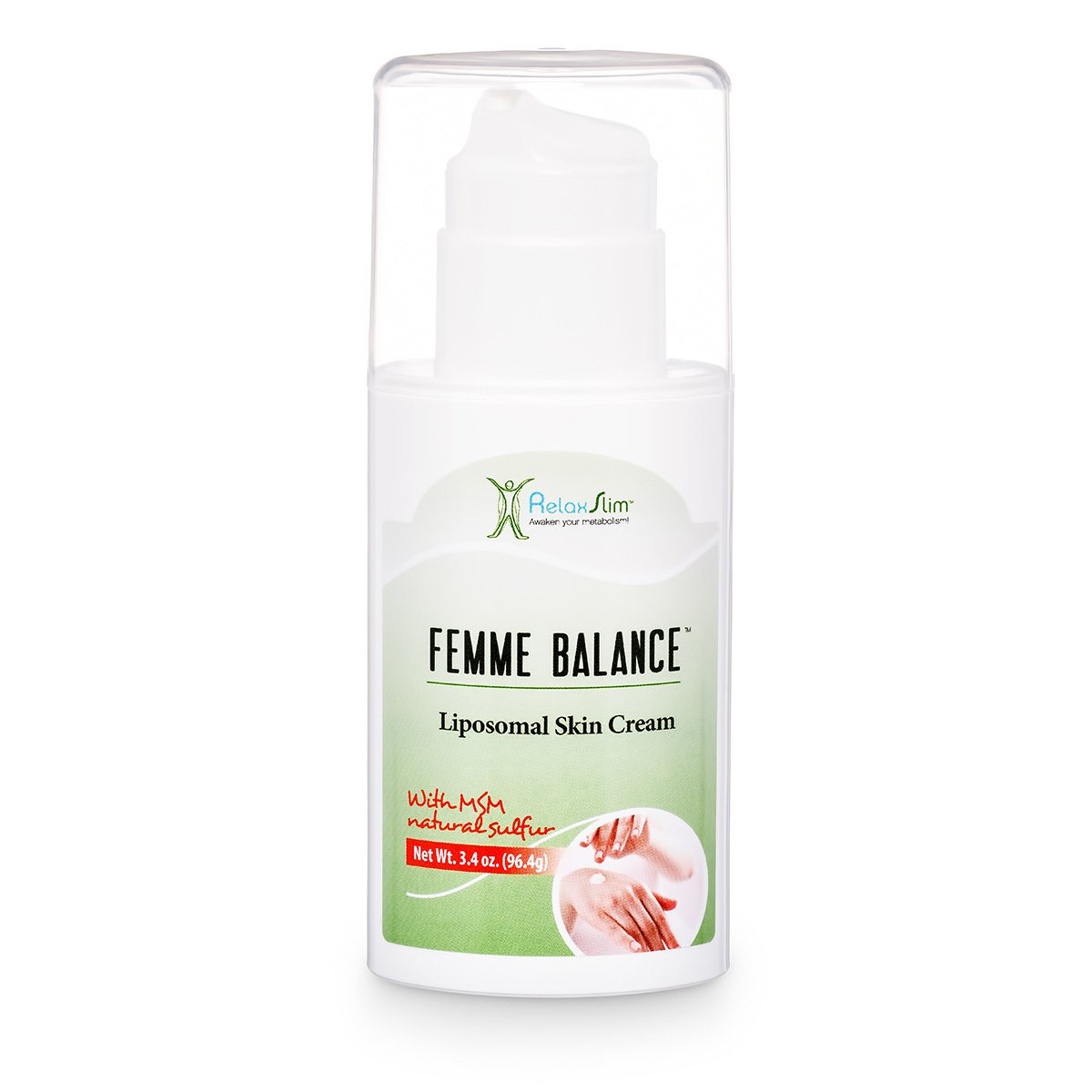 RelaxSlim Femme Balance Cream, Formulated By Metabolism And Weight Loss Specialist- Natural Help To Any Weight Loss Attempt For The Accumulation Of Fat In The Abdomen And Thigh Areas In Women
