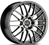 mustang 2015 rims and tires - Enkei EKM3 (17 x 7, 5 x 114.3) 38mm Offset, Hyper Silver, (1) Wheel/Rim